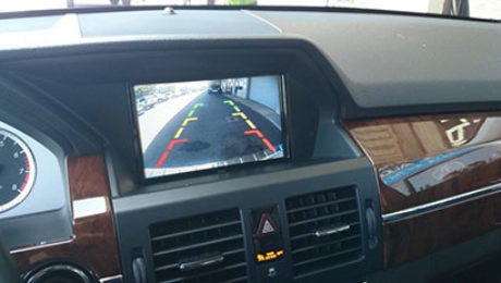 Mercedes-Backup-Camera-Solution